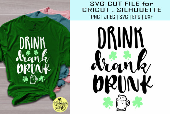 Download Free Drink Drank Drunk Graphic By Midmagart Creative Fabrica for Cricut Explore, Silhouette and other cutting machines.