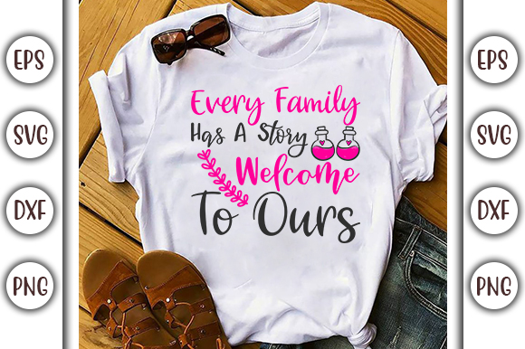 Download Free Every Family Has Love Family Graphic By Graphicsbooth for Cricut Explore, Silhouette and other cutting machines.
