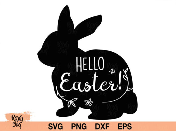 Print on Demand: Hello Easter Graphic Crafts By roxysvg26
