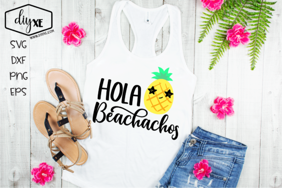 Hola Beachachos Graphic Crafts By Sheryl Holst