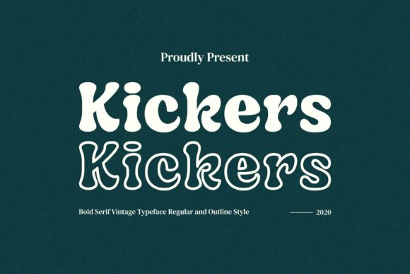 Print on Demand: Kickers Display Font By Fype Co.