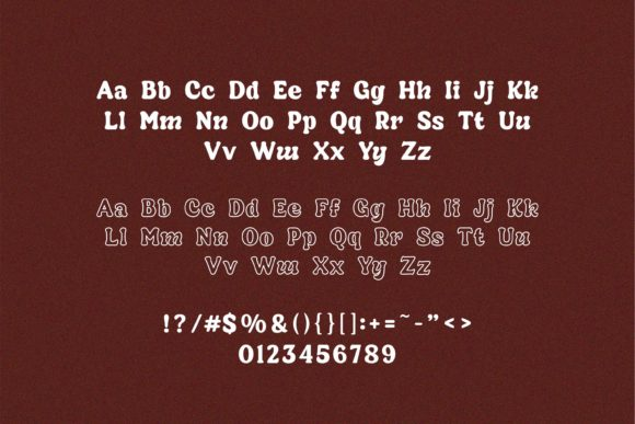 Print on Demand: Kickers Display Font By Fype Co. - Image 9
