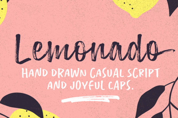 Print on Demand: Lemonado Script & Handwritten Font By melvasmika