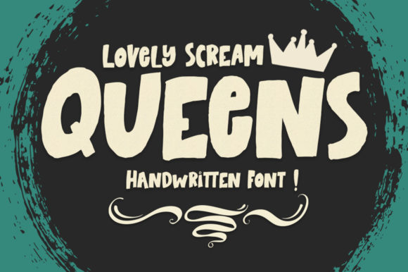 Print on Demand: Lovely Scream Queens Display Font By Youngtype