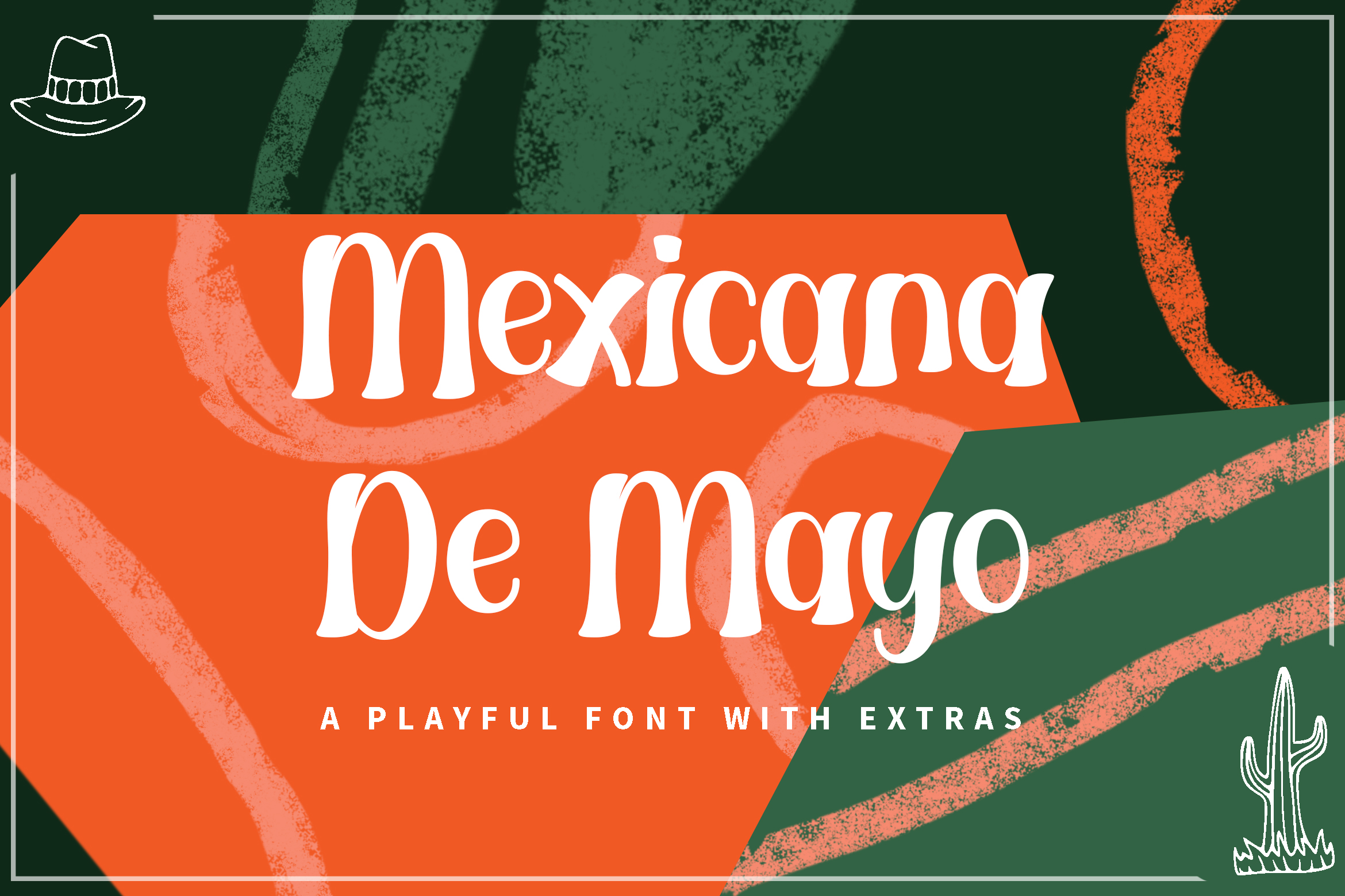 Download Free Mexicana De Mayo Font By Rifki 7ntypes Creative Fabrica for Cricut Explore, Silhouette and other cutting machines.