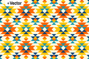 Download Free Native American Colorful Navajo Pattern Graphic By Dana Du for Cricut Explore, Silhouette and other cutting machines.