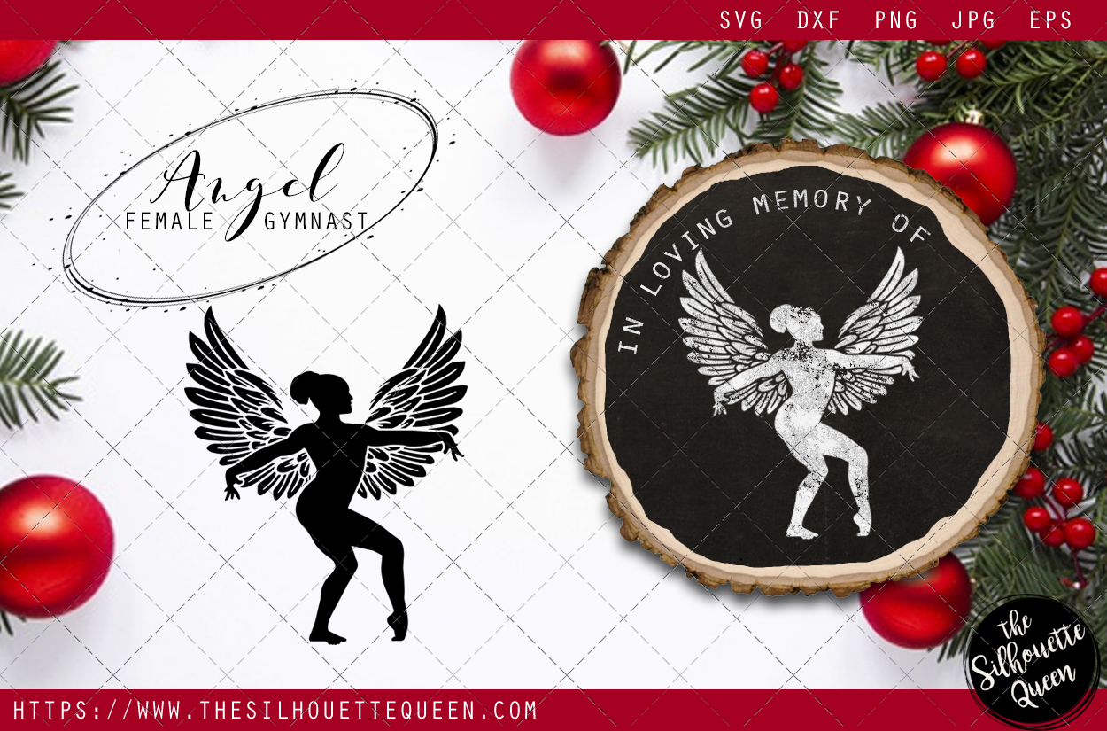 Download Free Rip Female Gymnast Graphic By Thesilhouettequeenshop Creative for Cricut Explore, Silhouette and other cutting machines.