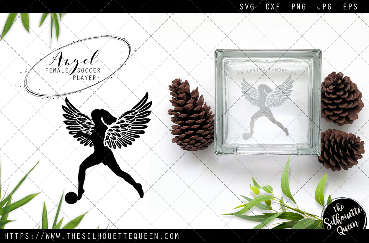 Download Free Rip Female Soccer Player Graphic By Thesilhouettequeenshop for Cricut Explore, Silhouette and other cutting machines.