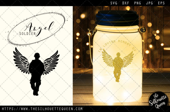 Download Free Rip Soldier 2 Graphic By Thesilhouettequeenshop Creative Fabrica for Cricut Explore, Silhouette and other cutting machines.