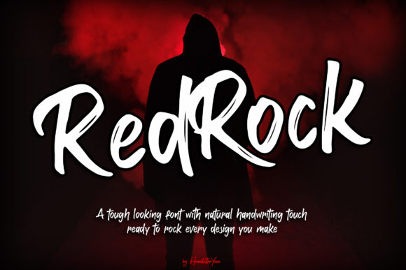 Print on Demand: Red Rock Display Font By yean.aguste