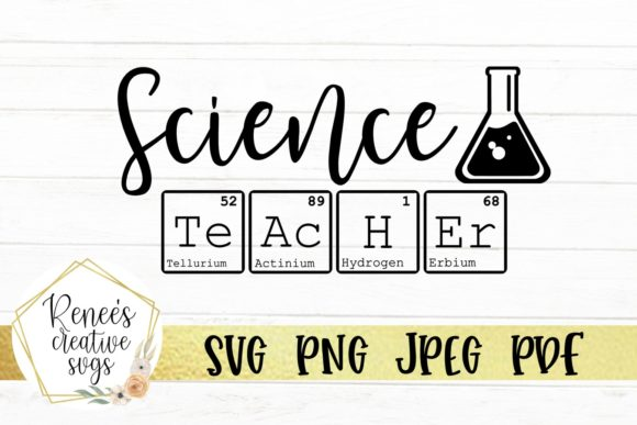 Print on Demand: Science Teacher Graphic Crafts By ReneesCreativeSVGs
