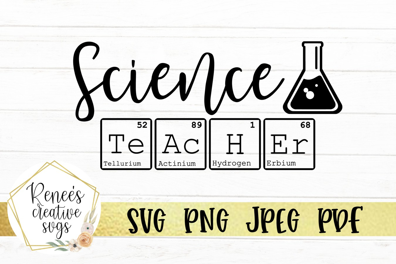 Download Free Science Teacher Graphic By Reneescreativesvgs Creative Fabrica for Cricut Explore, Silhouette and other cutting machines.
