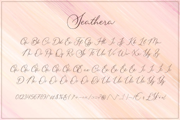 Print on Demand: Seathera Script & Handwritten Font By almarkhatype - Image 10