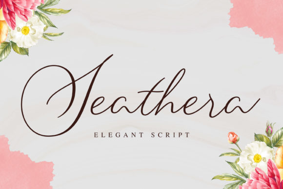 Print on Demand: Seathera Script & Handwritten Font By almarkhatype