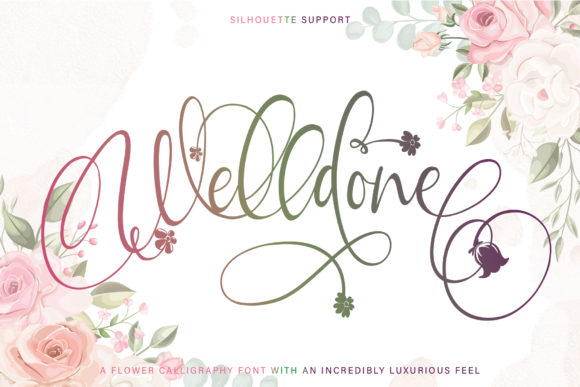 Print on Demand: Welldone Script & Handwritten Font By thomasaradea