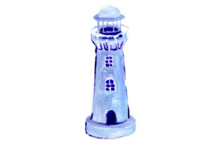 Lighthouse Nautical Craft Cut File By Creative Fabrica Crafts