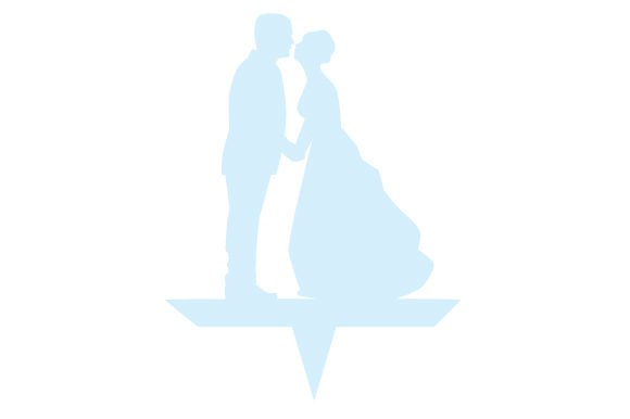 Couple Kissing Wedding Cake Topper Wedding Craft Cut File By Creative Fabrica Crafts