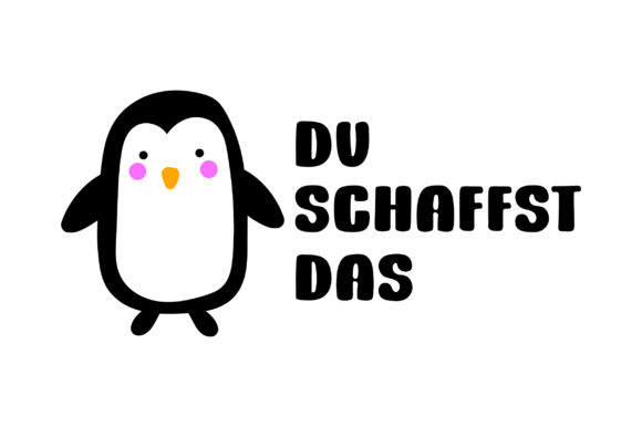 Download Free Du Schaffst Das Svg Cut File By Creative Fabrica Crafts for Cricut Explore, Silhouette and other cutting machines.
