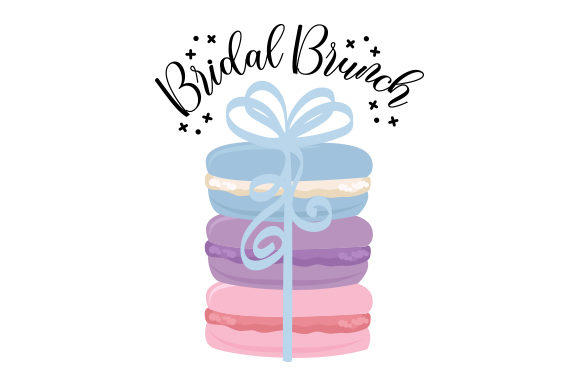 Bridal Brunch Wedding Craft Cut File By Creative Fabrica Crafts