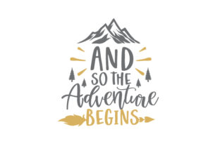 And so the Adventure Begins Wedding Craft Cut File By Creative Fabrica Crafts