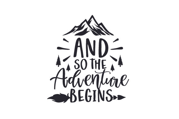 And so the Adventure Begins Wedding Craft Cut File By Creative Fabrica Crafts - Image 2
