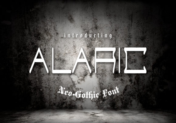 Download Free Alaric Font By Dmytroyarish Creative Fabrica for Cricut Explore, Silhouette and other cutting machines.