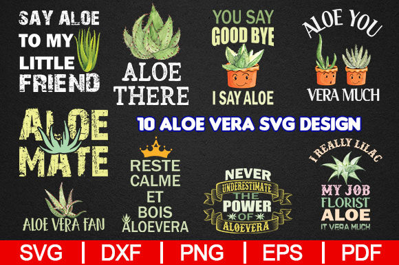 Download Free Aloe Vera Design Graphic By Artistcreativedesign Creative Fabrica for Cricut Explore, Silhouette and other cutting machines.