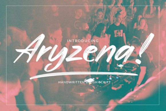 Print on Demand: Aryzena Script & Handwritten Font By Scratch Design