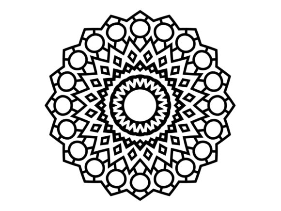 Print on Demand: Beautiful Mandala Design 116 Graphic Coloring Pages & Books Adults By ermannofficial