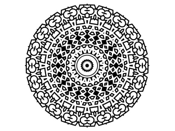 Print on Demand: Beautiful Mandala Design 117 Graphic Coloring Pages & Books Adults By ermannofficial