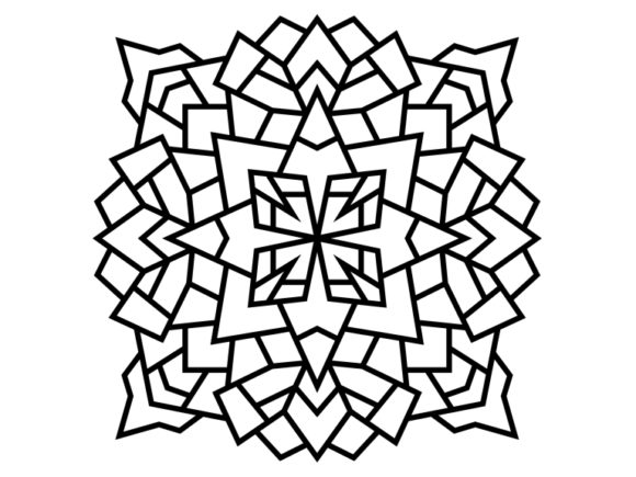 Print on Demand: Beautiful Mandala Design 134 Graphic Coloring Pages & Books Adults By ermannofficial