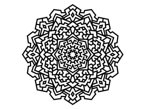 Print on Demand: Beautiful Mandala Design 163 Graphic Coloring Pages & Books Adults By ermannofficial