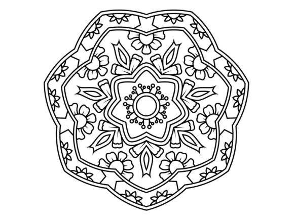 Print on Demand: Beautiful Mandala Design 164 Graphic Coloring Pages & Books Adults By ermannofficial