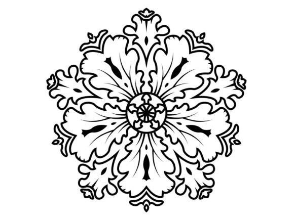 Print on Demand: Beautiful Mandala Design 165 Graphic Coloring Pages & Books Adults By ermannofficial