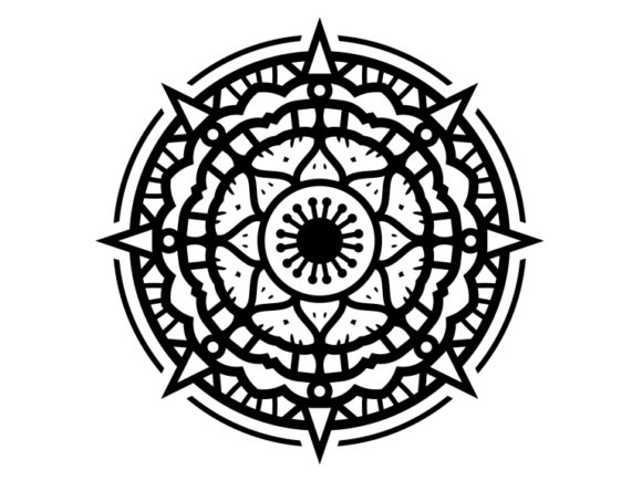 Print on Demand: Beautiful Mandala Design 166 Graphic Coloring Pages & Books Adults By ermannofficial