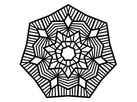 Print on Demand: Beautiful Mandala Design 171 Graphic Coloring Pages & Books Adults By ermannofficial