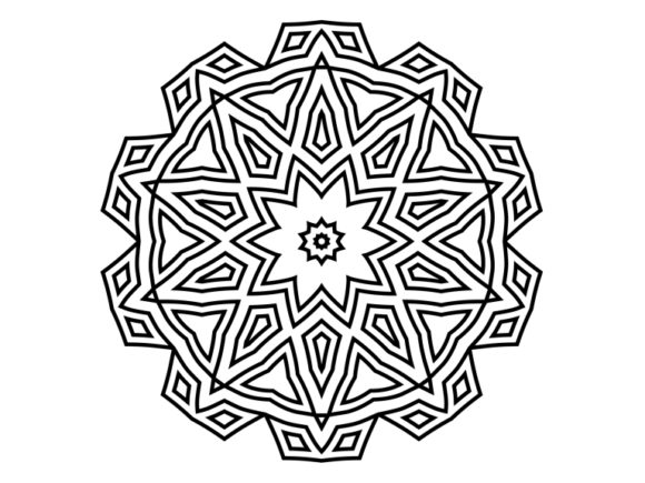 Print on Demand: Beautiful Mandala Design 178 Graphic Coloring Pages & Books Adults By ermannofficial