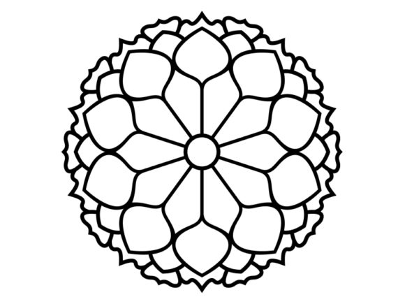 Print on Demand: Beautiful Mandala Design 190 Graphic Coloring Pages & Books Adults By ermannofficial