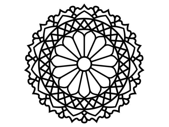 Print on Demand: Beautiful Mandala Design 191 Graphic Coloring Pages & Books Adults By ermannofficial