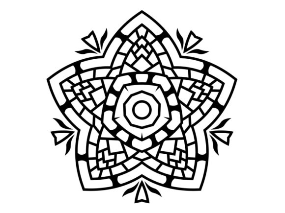 Print on Demand: Beautiful Mandala Design 194 Graphic Coloring Pages & Books Adults By ermannofficial