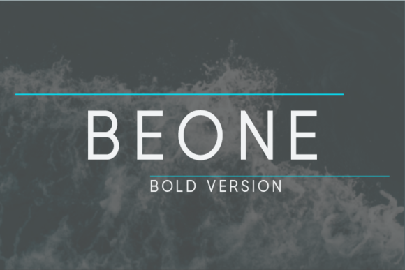 Print on Demand: Beone Bold Sans Serif Font By Nan Design