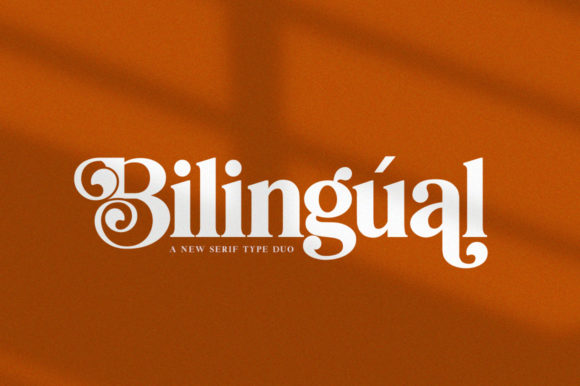 Print on Demand: Bilingual Serif Fuente Por Salt & Pepper Designs