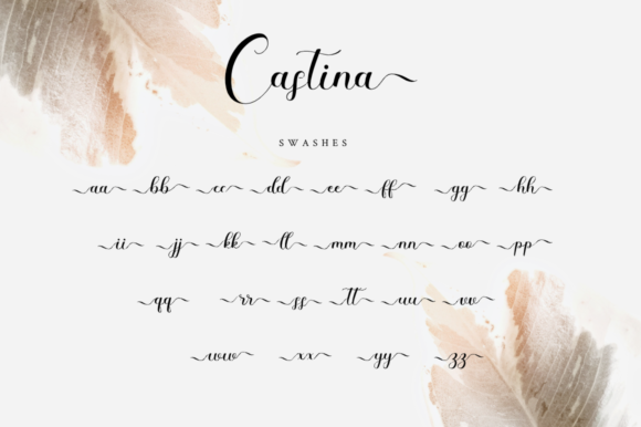 Print on Demand: Castina Script & Handwritten Font By Haffa Studio - Image 11