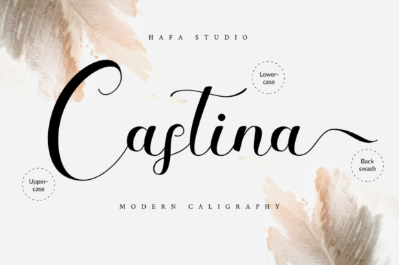 Print on Demand: Castina Script & Handwritten Font By Haffa Studio - Image 9
