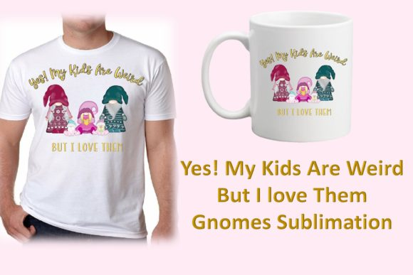 Download Free Funny Gnome Sublimation Graphic By The Paper Princess Creative for Cricut Explore, Silhouette and other cutting machines.