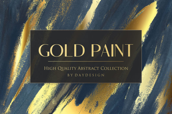Gold Paint Backgrounds Graphic Textures By DAYDESIGN