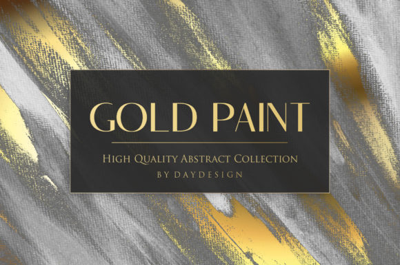 Download Free Gold Paint Backgrounds Graphic By Daydesign Creative Fabrica for Cricut Explore, Silhouette and other cutting machines.