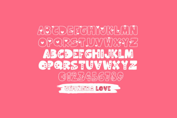 Print on Demand: Hooman Love Decorative Font By a.gwyneira - Image 2