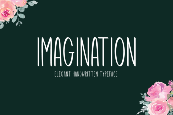 Print on Demand: Imagination Display Font By Instagram Fonts