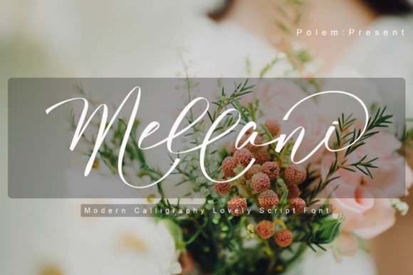 Print on Demand: Mellani Script & Handwritten Font By Polem